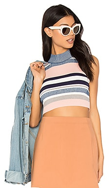 Stripe Mock Tank in Multi