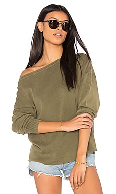 Enzyme Off the Shoulder Top