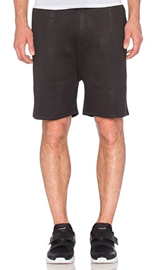 Cahill+ Quilted Neoprene Short in Black