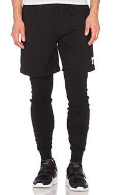 Cahill+ Double Layer Pant in Black