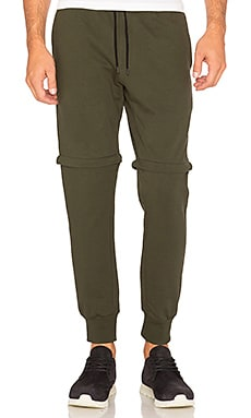 Empire Zip Off Jogger