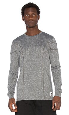 Cahill+ Long Sleeve Tee in Speckled Grey