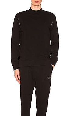 Shoulder Zip Sweatshirt Calvin Klein $79