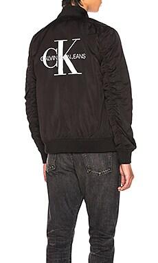 Logo Bomber Calvin Klein $104