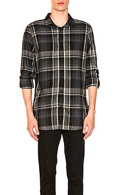 Brushed Plaid Woven Shirt
