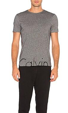 Футболка с логотипом по центру - Calvin Klein