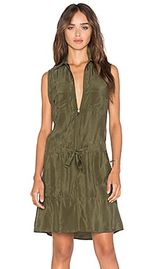 Run It Dress in Olive