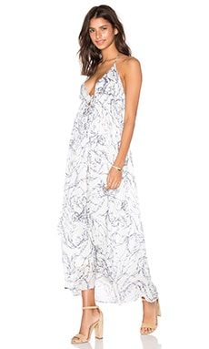 Calvin Rucker Head Over Feet Dress in Sea Garden Print