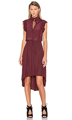 Calvin Rucker Let's Dance Dress in Deep Ruby
