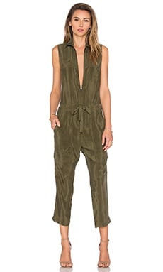 One Thing Jumpsuit en Verde Oliva
