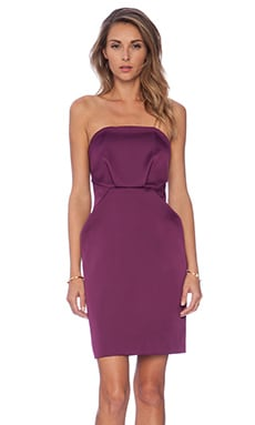 C/MEO Play With Fire Mini Dress in Plum