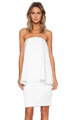 C/MEO The Ascent Dress in Ivory