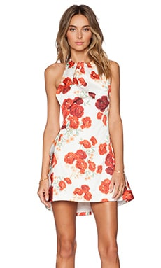 C/MEO About You Dress in Red Blossom