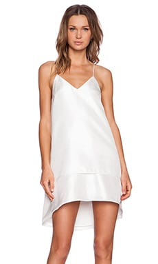C.MEO New Day Dress in Ivory