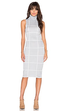 C/MEO New Guard SS Dress in Grey Check