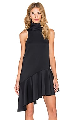Swept Away Dress in Black