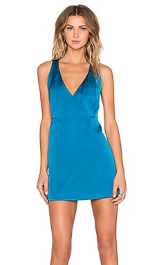 Swing Away Dress in Teal