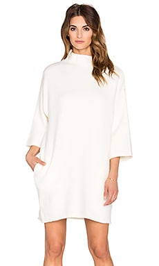 C/MEO Warm Winds Dress in Ivory