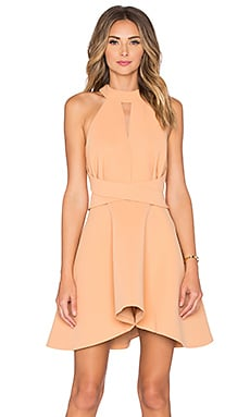 C/MEO x REVOLVE Breaking Hearts Dress in Tan