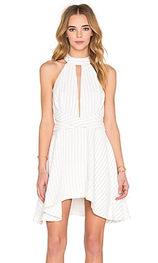 C/MEO I'm New Here Dress in Stripe