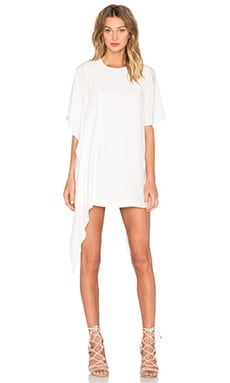 Disposition Silk Dress in Ivory