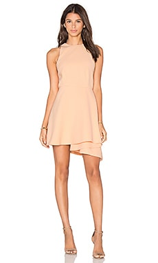 C/MEO Fools Gold Party Dress in Blush