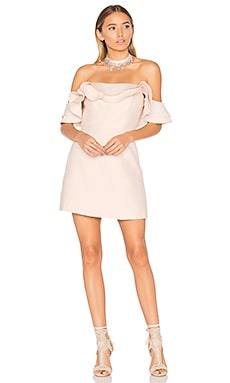 First Impression Mini Dress in Blush