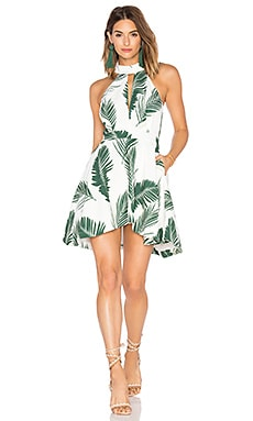 Witness Dress in Pine Maui Print