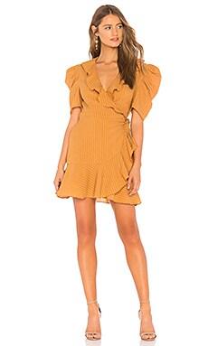 Фото - Платье advance - C/MEO горчичного цвета