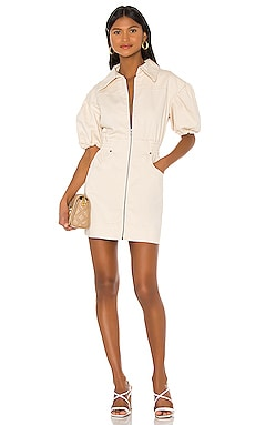 Peripheral Short Sleeve Dress C/MEO $180