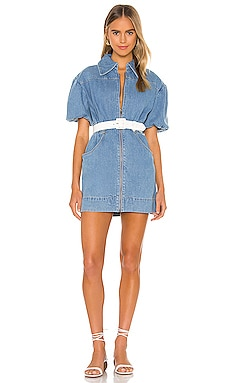 Peripheral Short Sleeve Dress C/MEO $128
