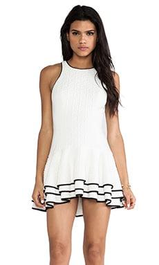 C/MEO You Move Dress in White
