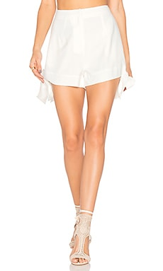 Shadow Short in Ivory
