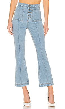 For The Story Jean In Washed Blue C/MEO $125