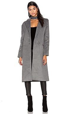 Better Off Coat in Grey