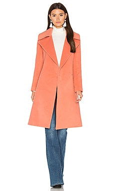 Dream Space Coat in Terracotta