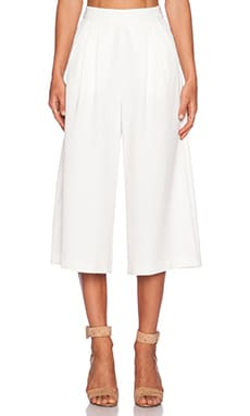 C/MEO Power Trip Culotte in White