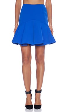 Why Ask Skirt in Cobalt Blue