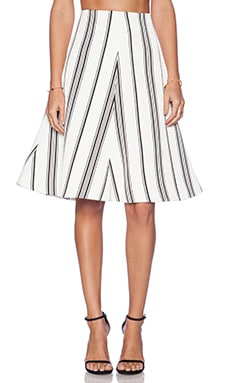C/MEO Rather Be Skirt in Stripe