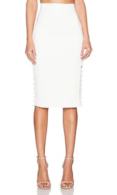 C/MEO Airplane Skirt in Ivory