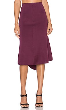 New Guard Skirt in Plum