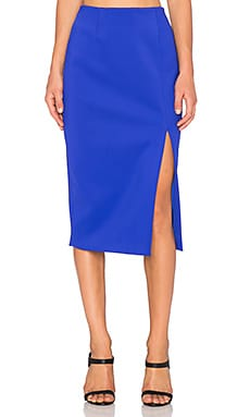 C/MEO The Nights Skirt in Cobalt