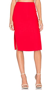 Seasons Change Skirt in Scarlet