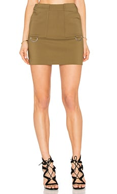 C/MEO Better Things Skirt in Khaki