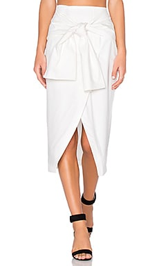 Im In It Skirt en Blanc