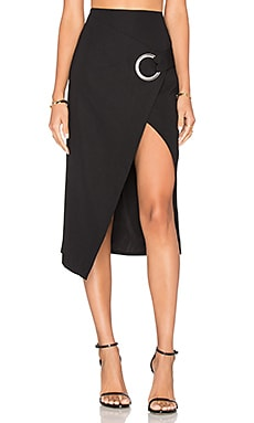 C/MEO On The Line Skirt in Black