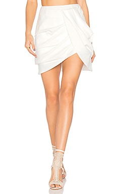 Interrupt Skirt in Ivory