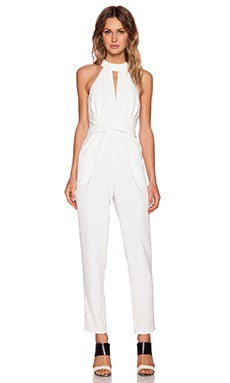 C/MEO Breaking Hearts Jumpsuit in Ivory