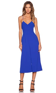 C/MEO Power Trip Jumpsuit in Cobalt