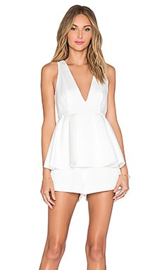 C/MEO Future Starts Playsuit in Ivory